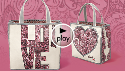 Gift With Purchase: Sweet Heart Tote
