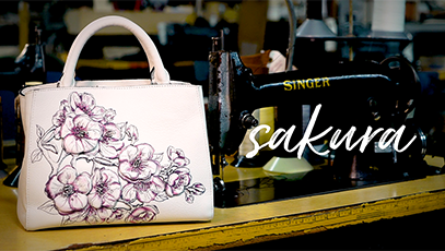 In the Details: Sakura Medium Satchel