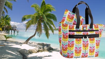 Travel In Style: Lock It Super Tote
