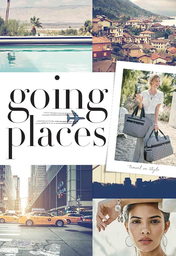 Going Places: Travel-theme collage