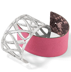 POWER OF PINK CHRISTO CUFF