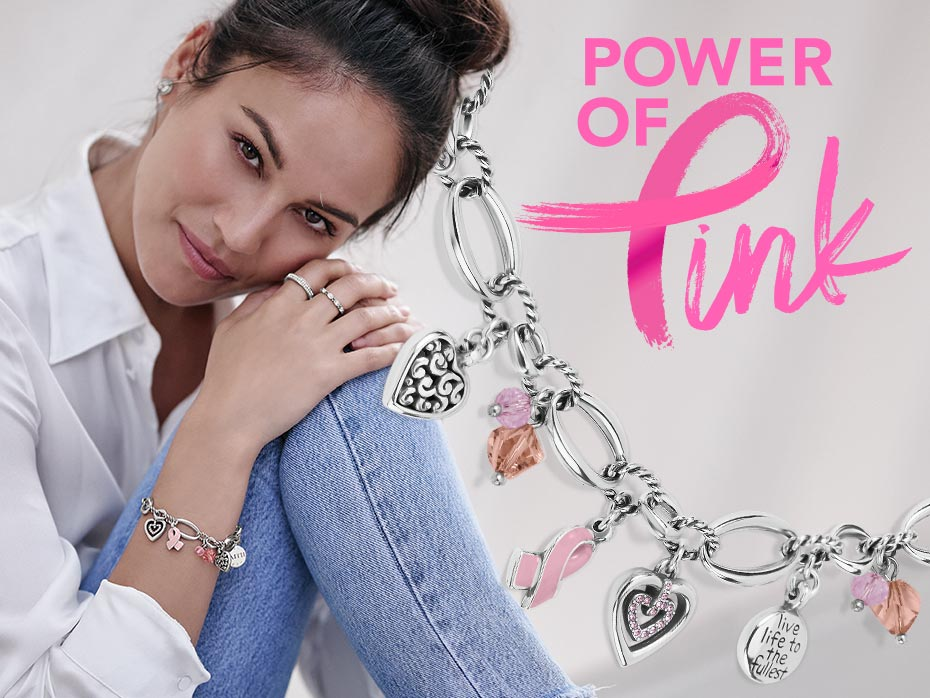 Power of Pink Bracelet - Supporting Breast cancer awareness