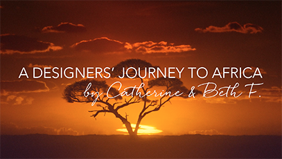 A Designer's Journey To Africa