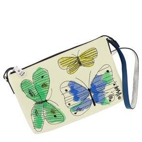 Paradise Embroidered Pouch