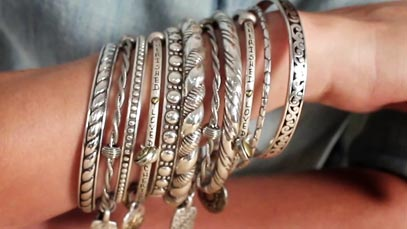 Fashion Fridays: Stacking Bracelets