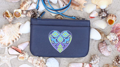 FREE Summer Heart Mini Bag with $75 in-store purchase!