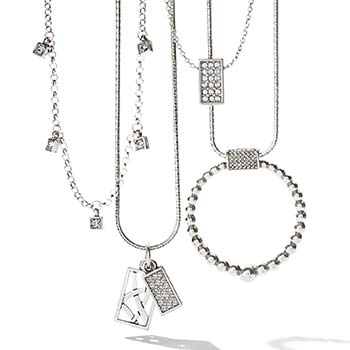 Meridian collection necklaces