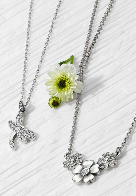 Brighton dragonfly and floral jewelry