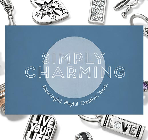 Assorted Charms with Simply Charming Logo