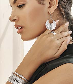 Model with  Brighton Jewelry
