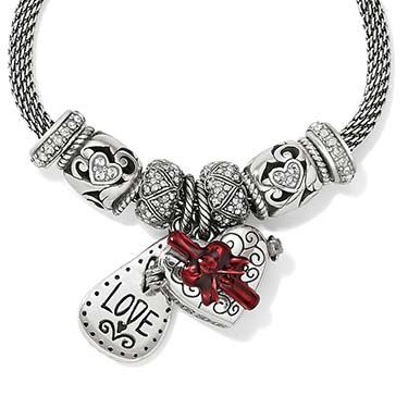 New Charms Bracelet with love charms