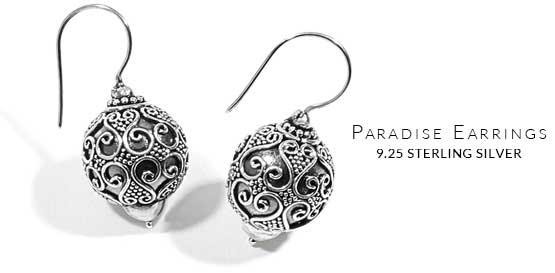 Insert Of Image Paradise French Wire Earrings