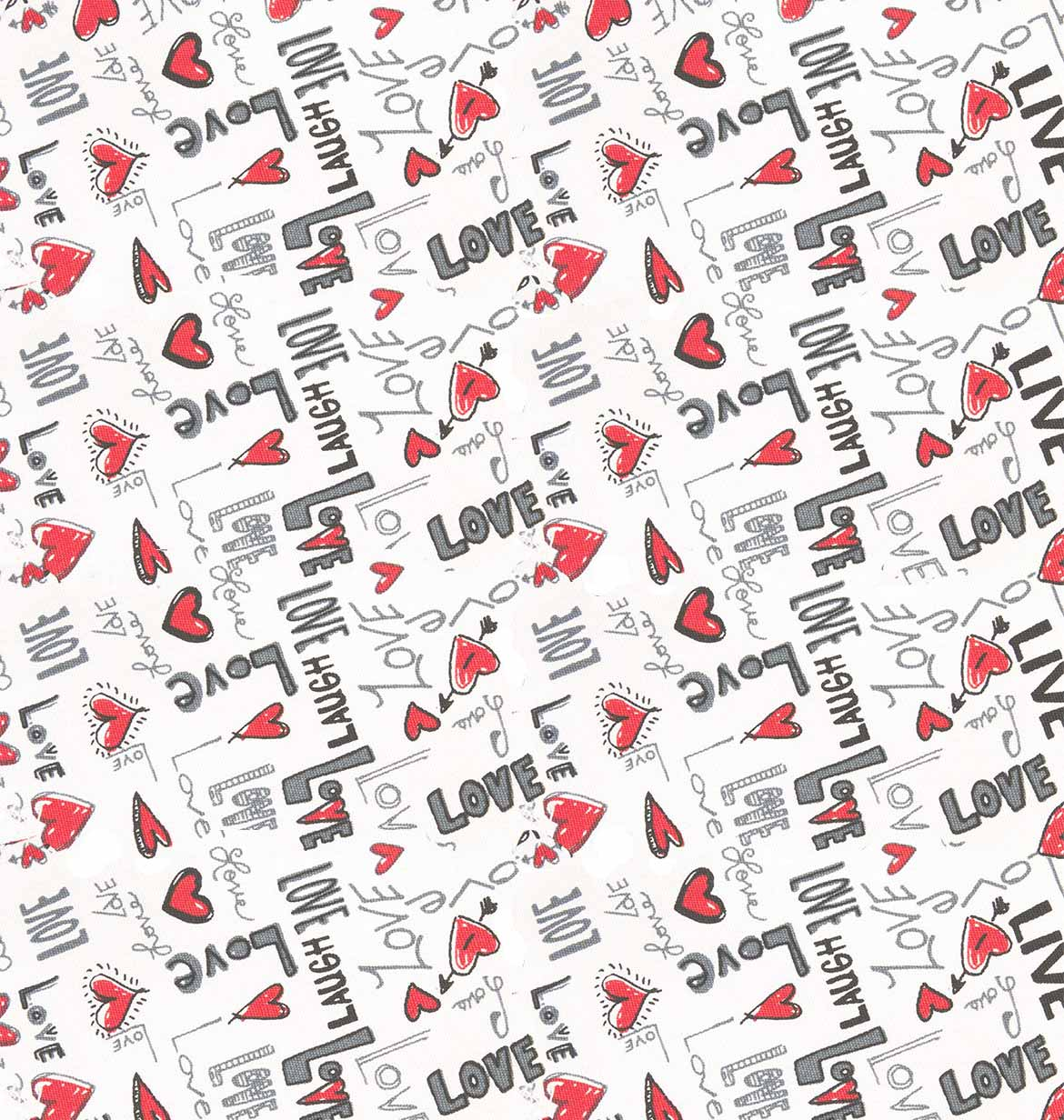 Background of LOVE pattern by Tom Clancy