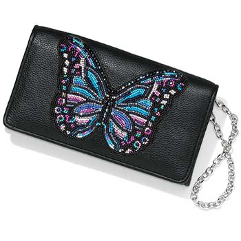 Beaded Butterflly Wallet