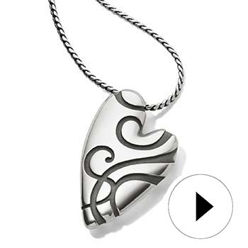Free* Heart Swirl Necklace
