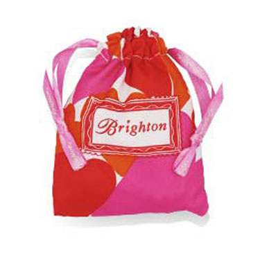 Brighton gift box with a red ribbon