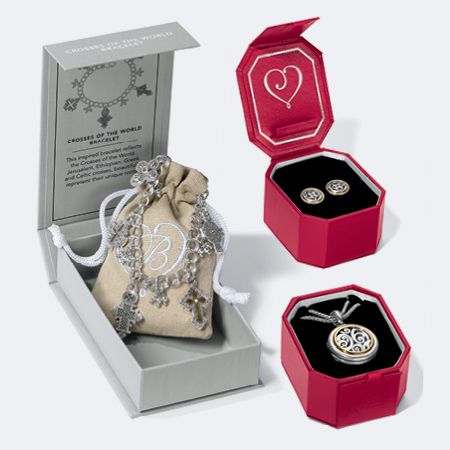 jewelry set in beautiful box