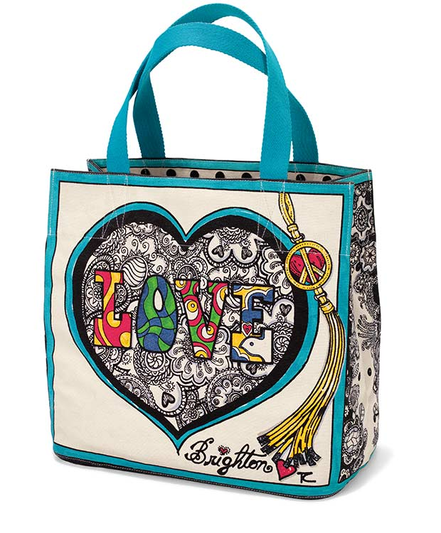 Summer of Love tote - front view