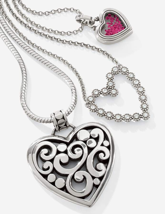 hearts jewelry and other accessories