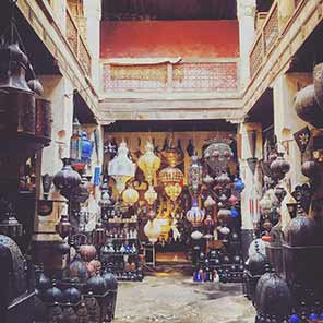 Photo of Moroccan lantern shop