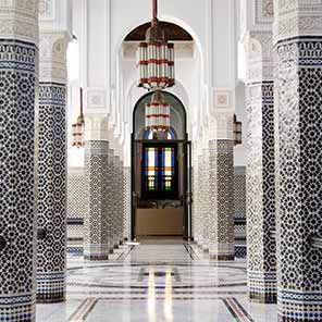 Photo of tile work
