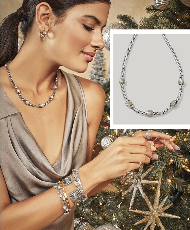 Model With Meridian Jewelry