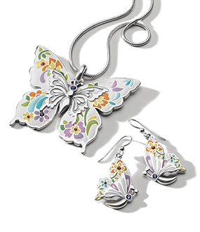 Butterfly Necklace from Belle Jardin Collection