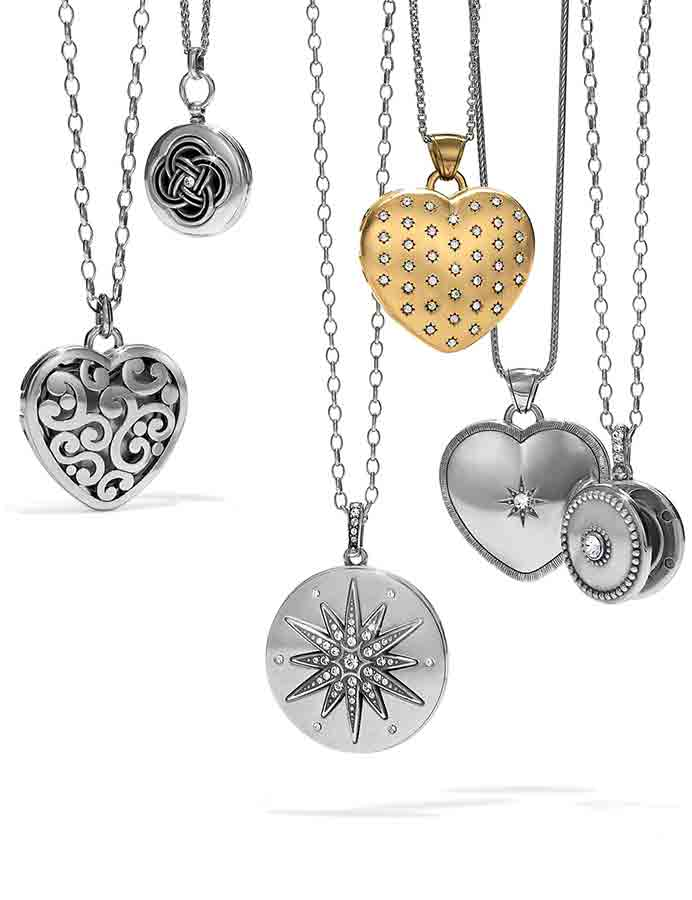 7 different locket necklaces