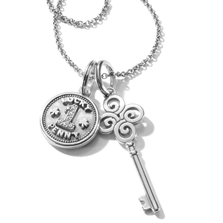 Lucky Penny and Key Amulets