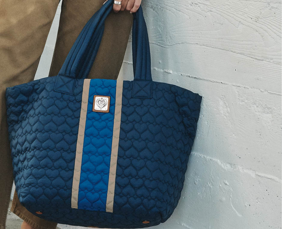 brighton model with Knox Extra Large Tote