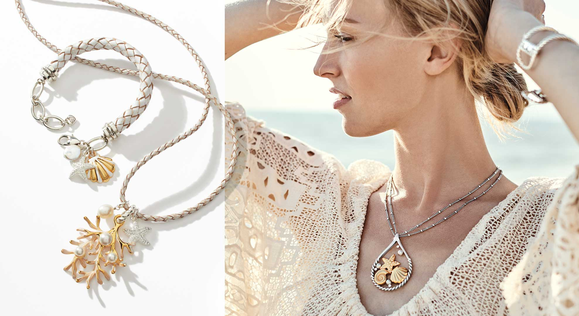 models with nautical jewelry
