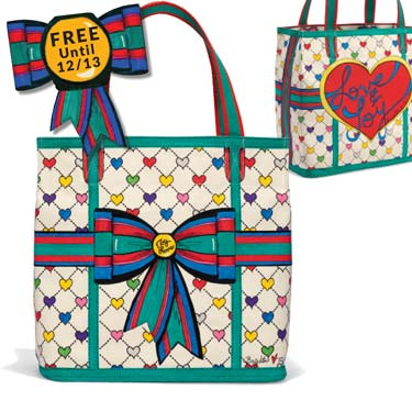Gift With Purchase - Free Love & Joy Tote until December 13th