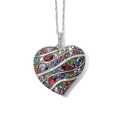 New Colorful Heart Necklace