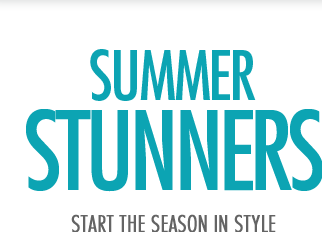Summer stunners-start the season in style