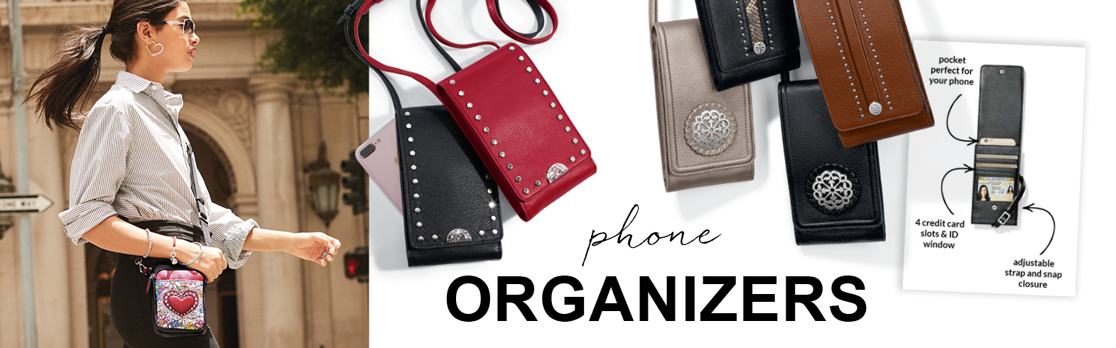 Model Carrying Phone Organizer