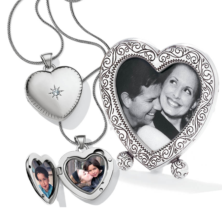 Personalize gifts of lockets and frames