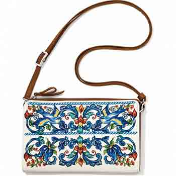 New Volare Embroidered Pouch