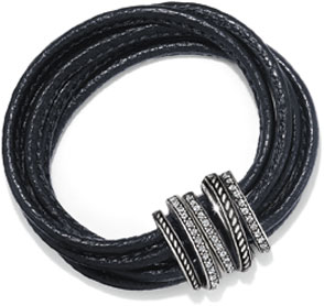 Brighton Leather Bracelet