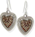 Devotion Heartsong French Wire Earrings