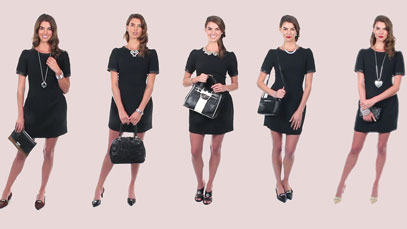 Fashion Fridays: Accessorize Your Little Black Dress