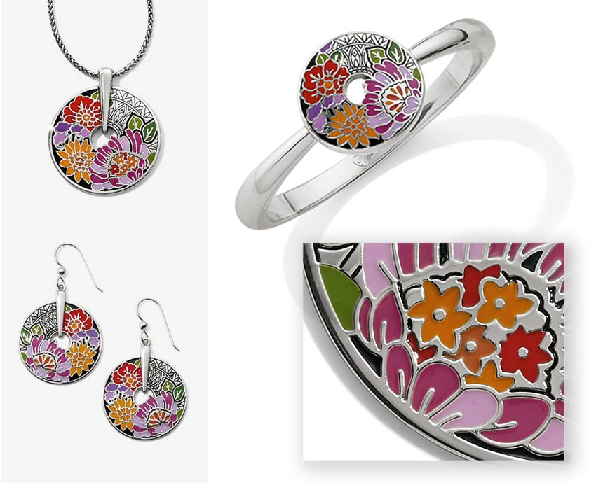 floral design jewelry