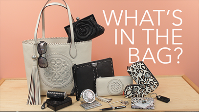 What Fits In The Bag: Gabriella Medallion Tote