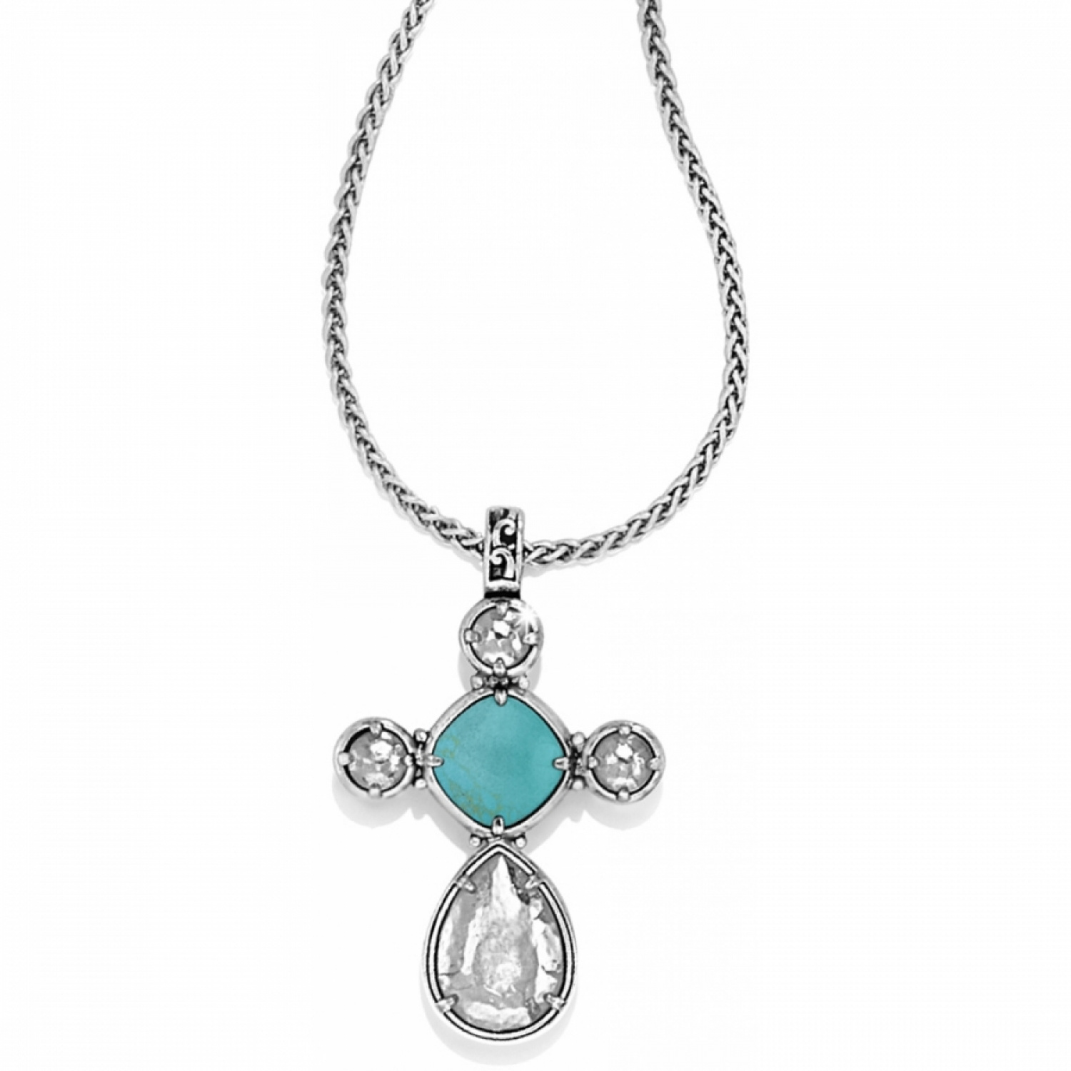 Photo Of Graceful Cross Necklace