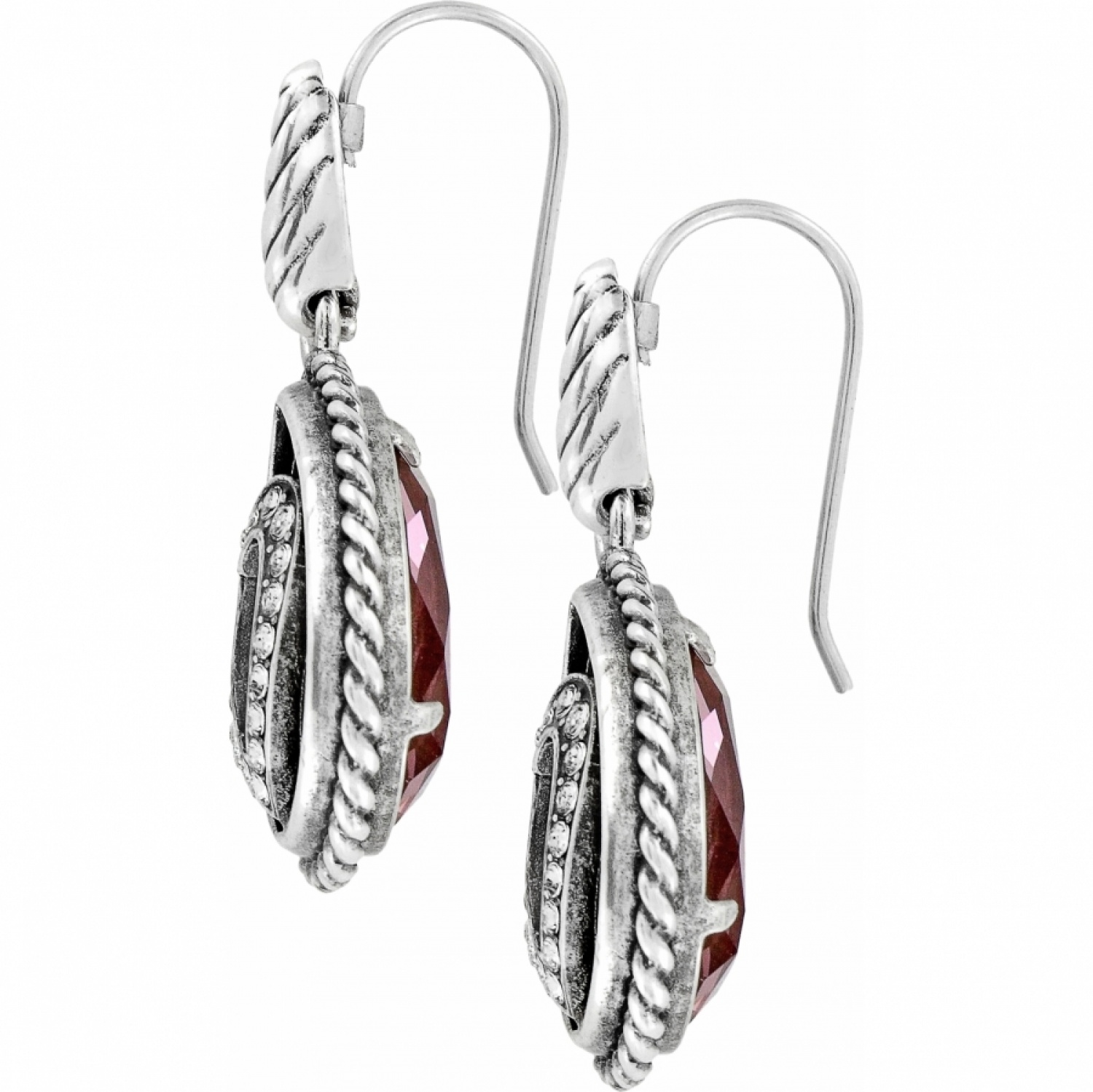 Courageous Heart French Wire Earrings In