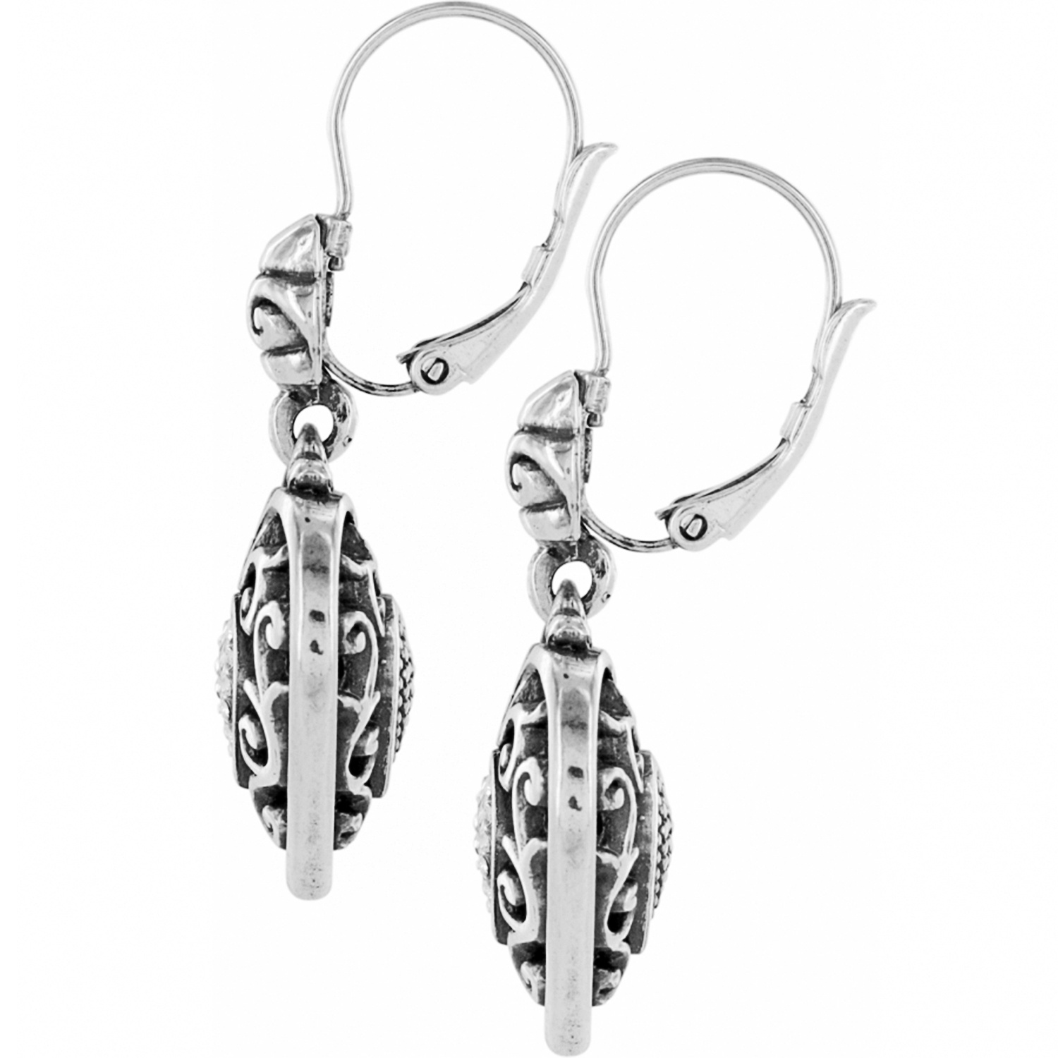 Reno Heart Leverback Earrings
