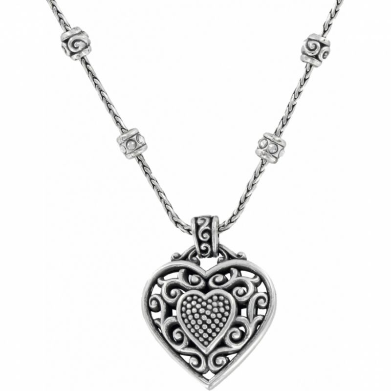 Reno heart reno heart necklace necklaces reno heart necklace in alternate view aloadofball Images