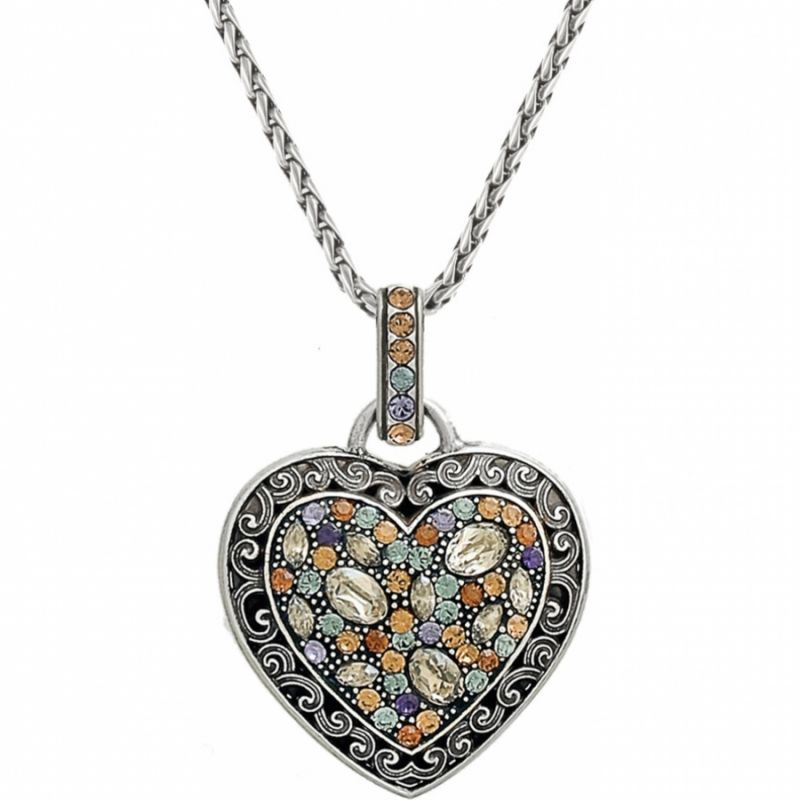 Crystal voyage crystal voyage heart necklace necklaces crystal voyage heart necklace in alternate view aloadofball Gallery