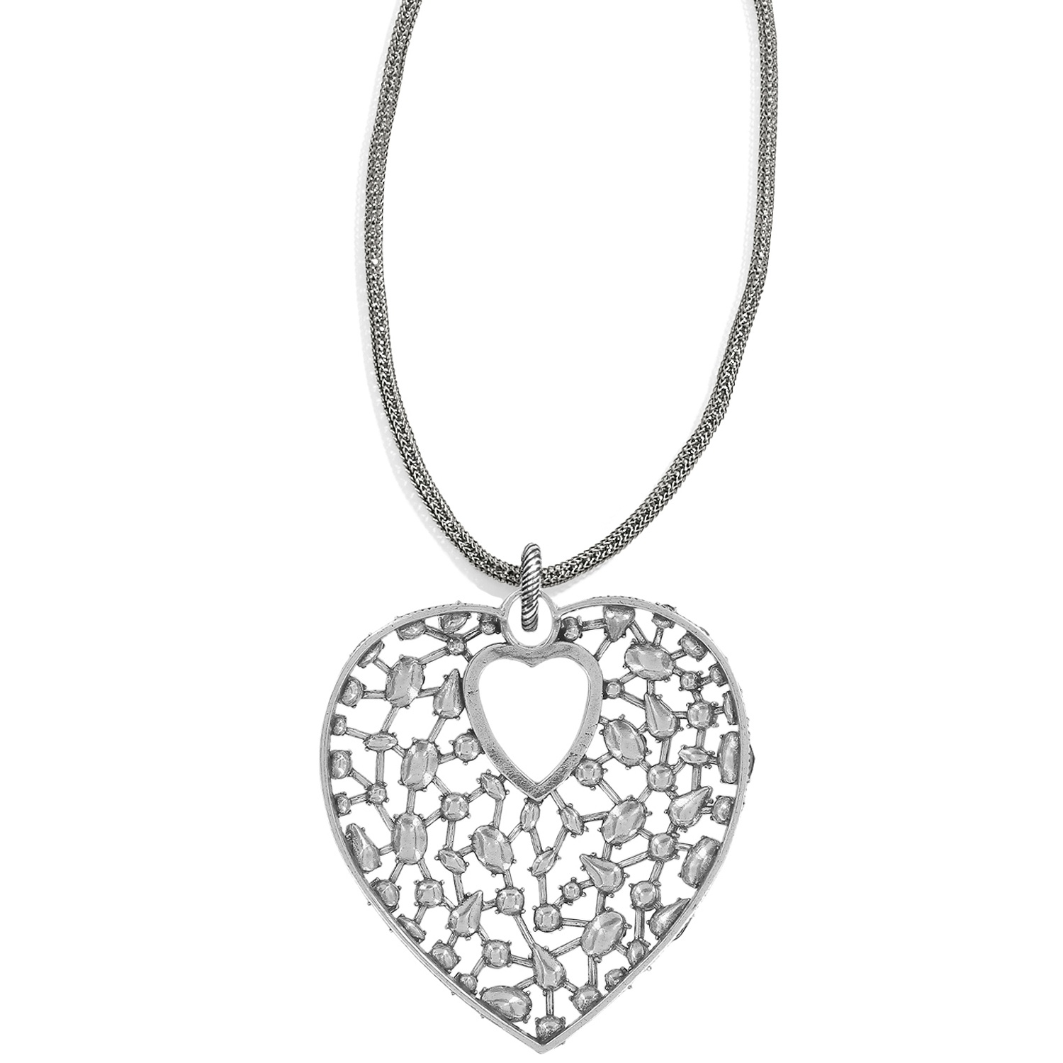 4429bd427 One Love One Love Convertible Heart Necklace Necklaces