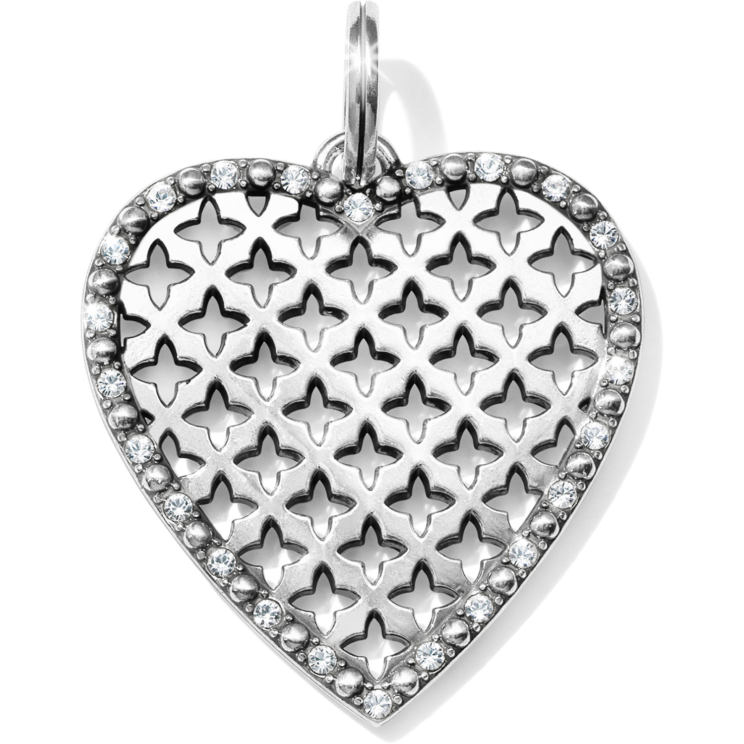 Orchid Trellis New Diamontrigue Jewelry: Trellis Heart Short Necklace Amulet Sets