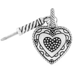 Memento Heart Photo Charm